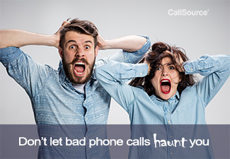 Don't let bad phone calls haunt you