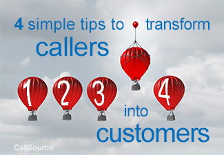 4 simple tips to transform callers into customers