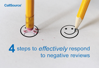 4 steps to effectively respond to negative reviews