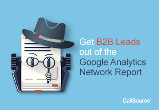 How to get B2B Leads out of Google Analytics Network Report