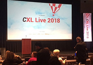 My Experience Attending the Digital Marketing Conference CXL 2018