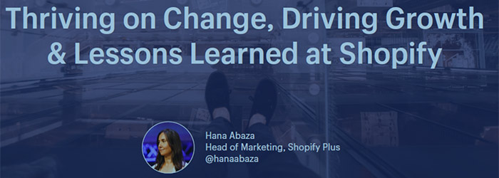 Thriving on Change, Driving Growth