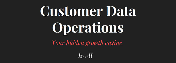 Customer Data Operations
