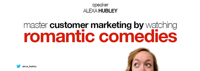 Master customer marketing by watching romantic comedies