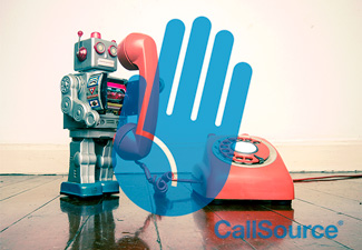 CallSource's proprietary IVr system CallShield blocks all unwanted spam calls