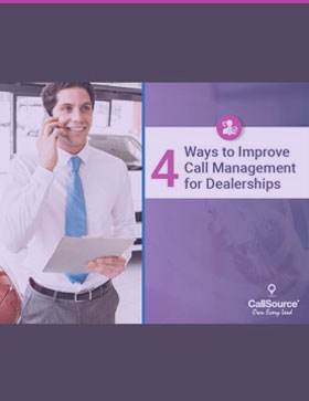 4 Ways to Improve Call Management for Dealerships