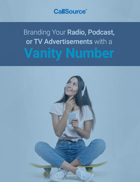 Guide: Branding Your Radio, Podcast, or TV Advertisements with a Vanity Number