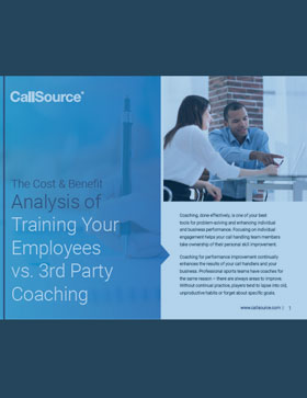 Guide: The Cost & Benefit Analysis of Training Your Employees vs. 3rd Party Coaching