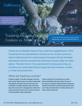Tracking Attribution With Cookies vs. Non-Cookies