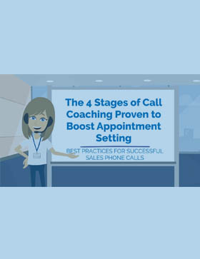 4 Stages of Call Coaching to Boost Appointments