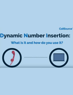 What is dynamic number insertion, and how can you use it