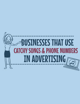 Video: Businesses That Use Catchy Songs & Phone Numbers in Their Advertising