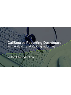 Health & Hearing: CS Reporting Dashboard – Video 1: Introduction