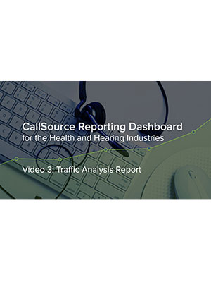 CS Reporting Dashboard – Video 3: Traffic Analysis Report