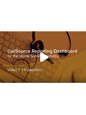 Home Services: CS Reporting Dashboard – Video 1: Introduction